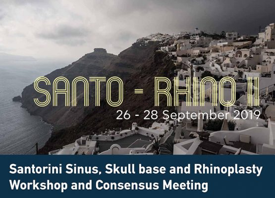 Santo-Rhino – Santorini Sinus and Skull Base Workshop and Consensus Meeting: 26 - 28 Σεπτεμβρίου 2019 featured